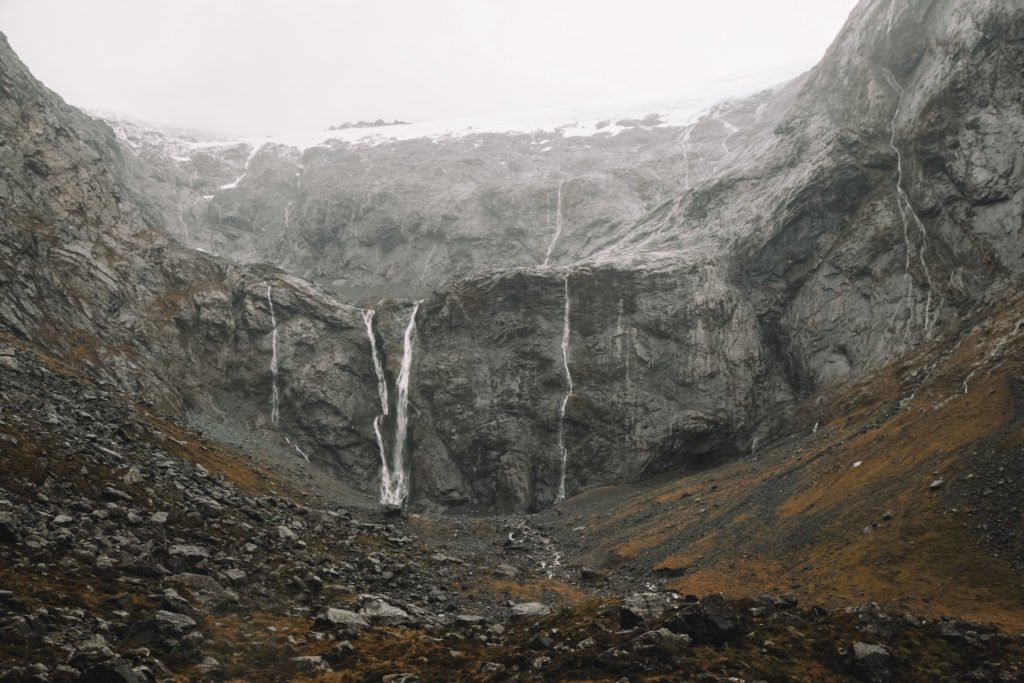 glaciers in the westfjords