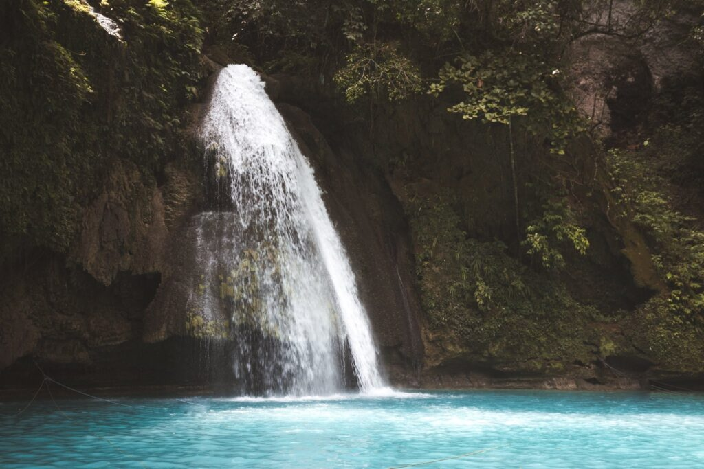 Kawasan falls best Cebu waterfalls in the philippines
