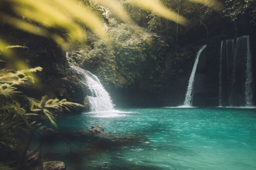 Kawasan Falls Level two