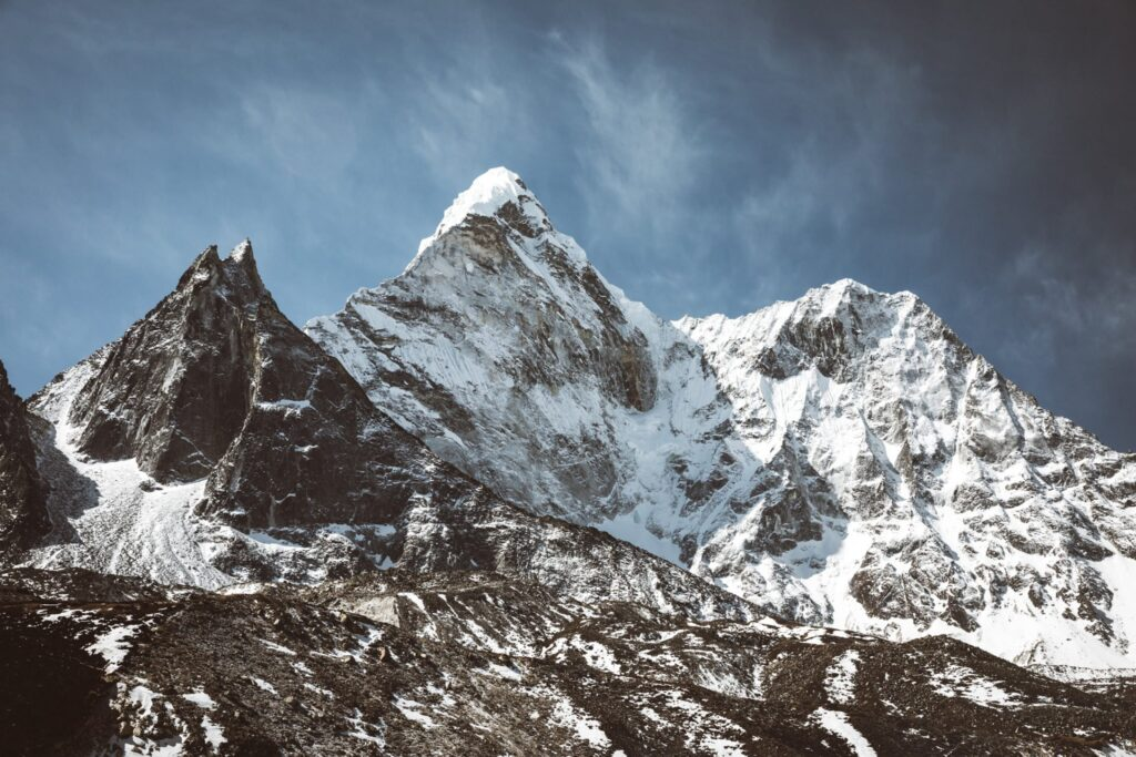 Everest Three High Passes Trek, Three Passes Guide, Kongma La Pass, Ama Dablam