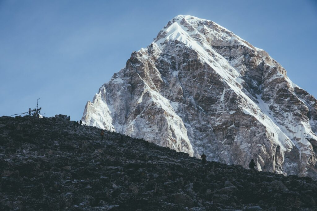 Mt Pumori from Kala Pathar Viewpoint