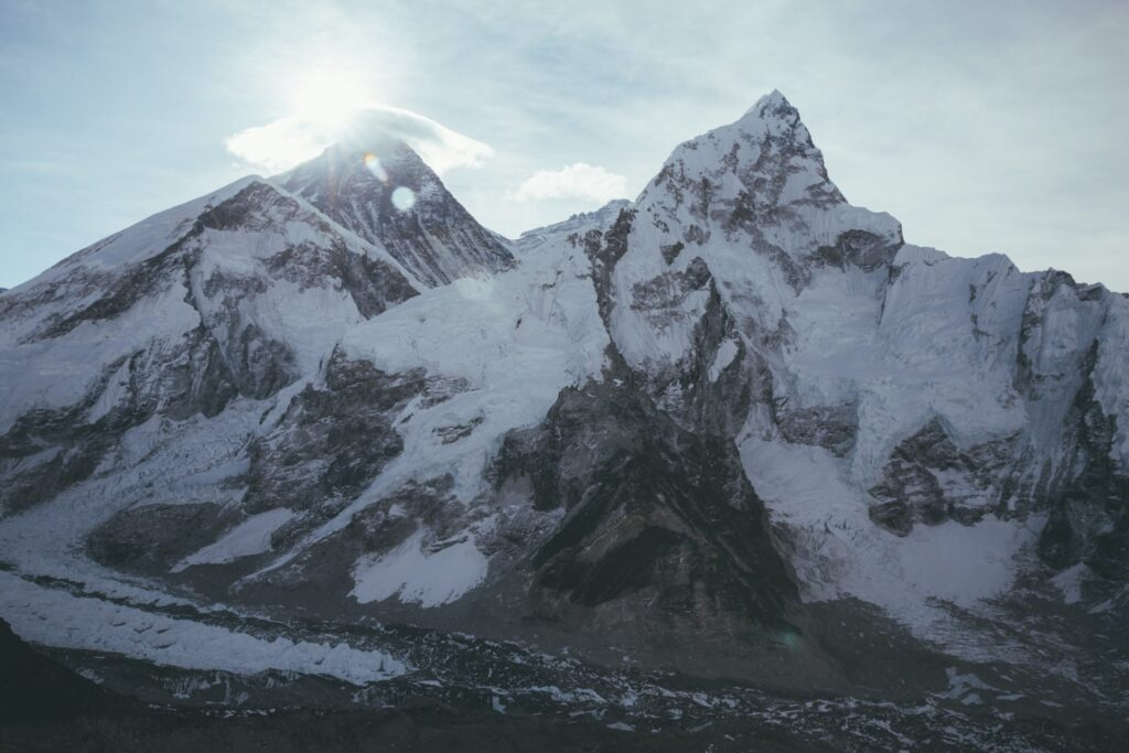 Kala Patthar Viewpoint Everest Base Camp Mountains Sunrise Hike