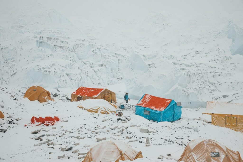 Mount Everest Base Camp Tents