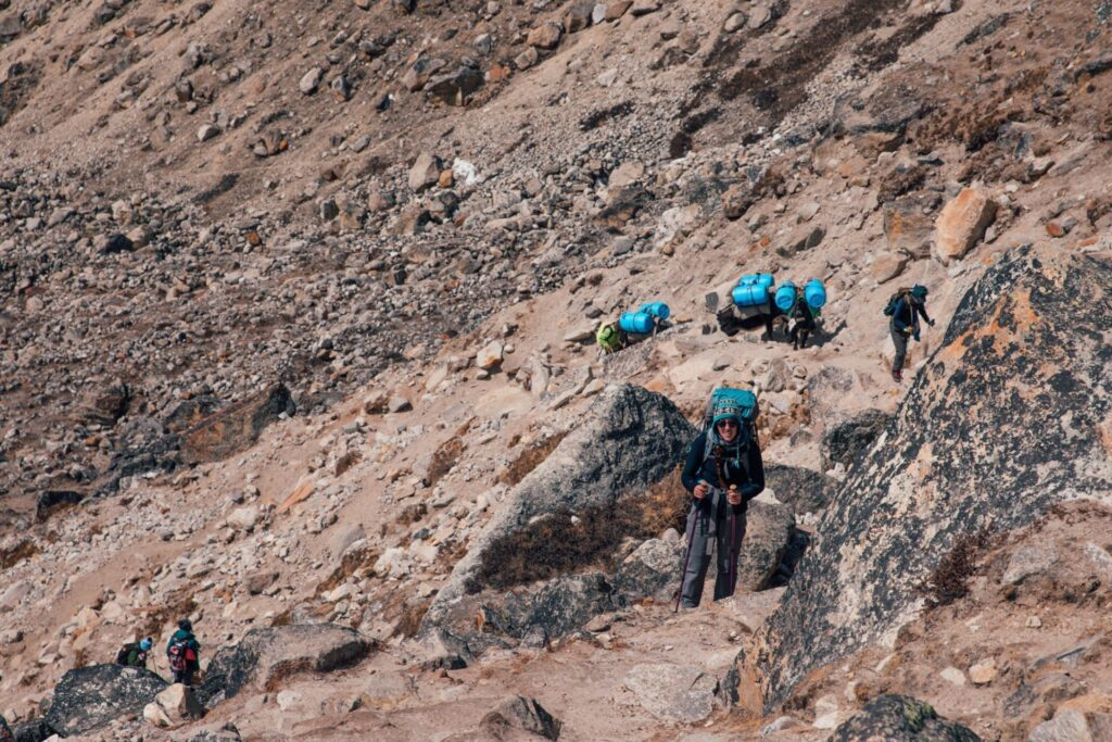 Three Passes Trek Lobuche