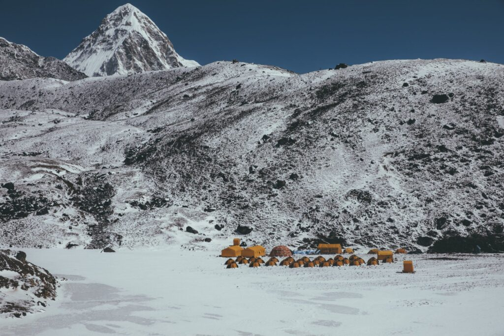 Mt Lobuche Base Camp, Three Passes Trek