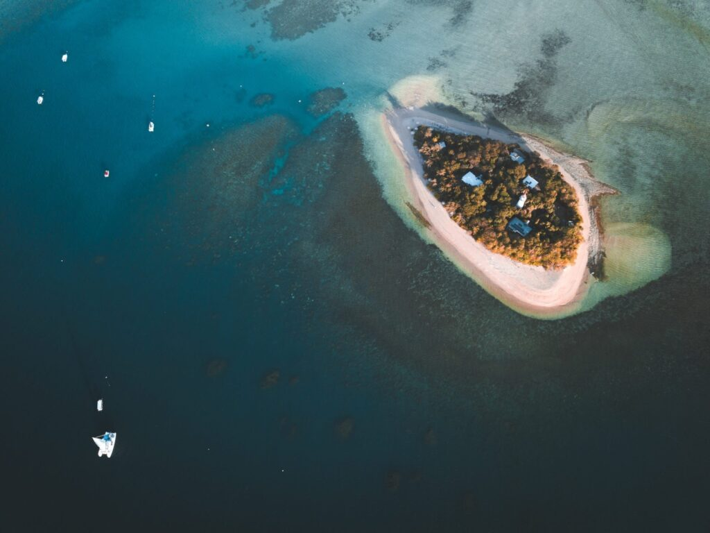 Low Isles, Low Islets Port Douglas Drone Photography